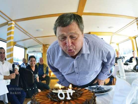 Dúzsi Tamás 70 – Születésnap a Dunán
