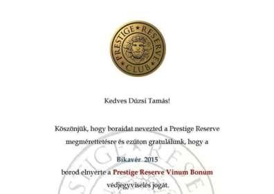 Prestige Reserve Vinum Bonum