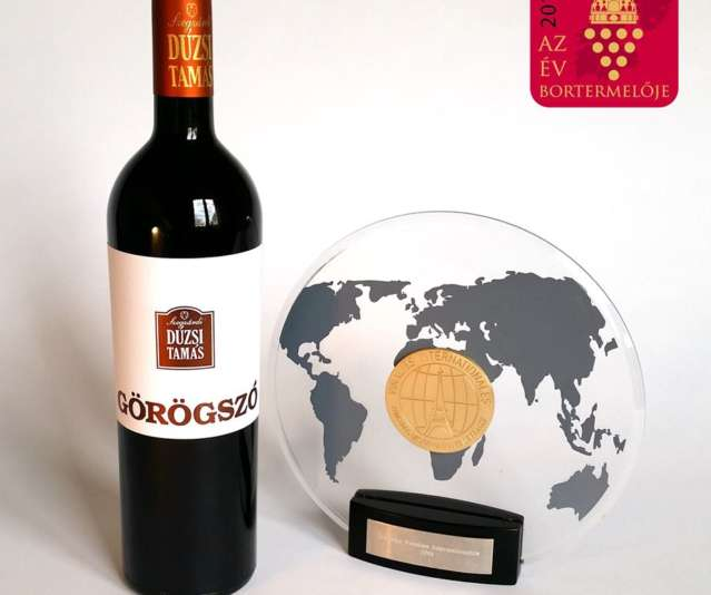 Tamás Dúzsi Görögszó, The World's Best Wine
